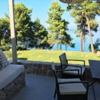 Azure veranda view