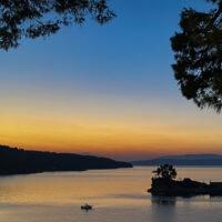 sunset at Agios Nikolaos