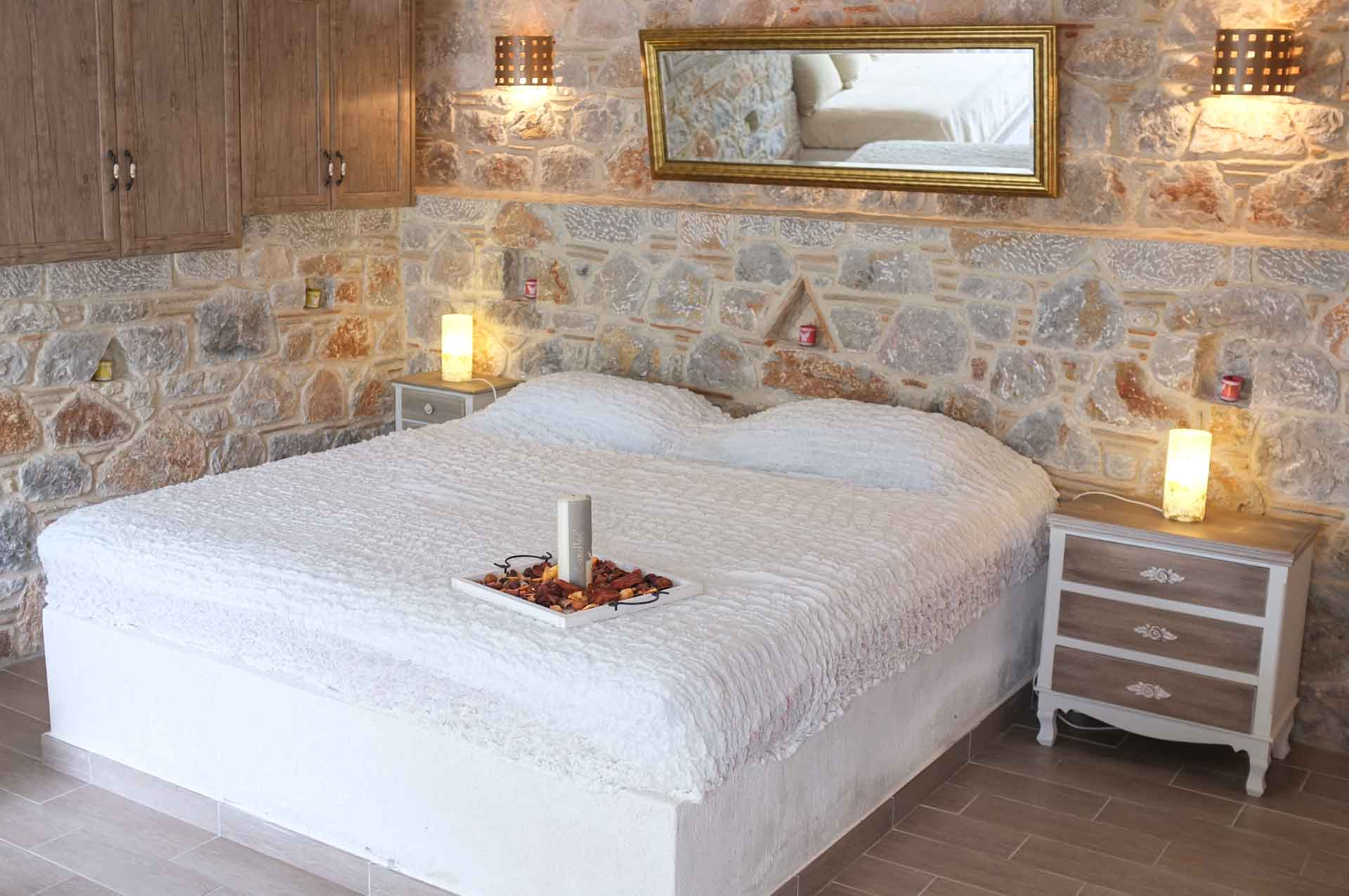 Built-in super king size bed